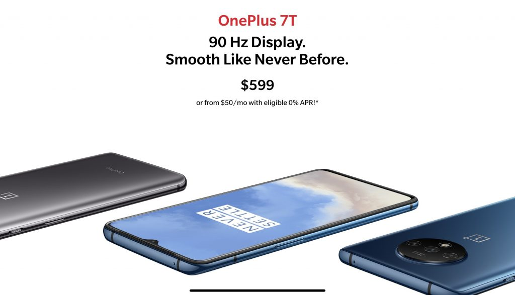Specs for oneplus 7t pro